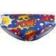 Turbo Boom!!! Spodenki kąpielowe Mężczyźni niebieski/kolorowy
